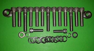 ROVER V8 INLET MANIFOLD CAPHEAD STAINLESS BOLTS LAND ROVER RANGE ROVER