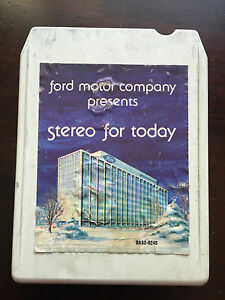 Ford motor company stereo for today 1978 8 track for Ford motor company annual report