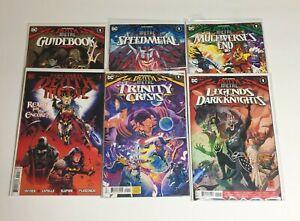 Dark-Nights-Death-Metal-Comic-Book-Lot-Guidebook-Speedmetal-Trinity-Multiverses