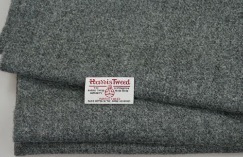 various Sizes co.jan13 Harris Tweed Fabric /& labels 100/% wool Craft Material