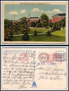 WASHINGTON-DC-Postcard-Walter-Reed-Hospital-Q42