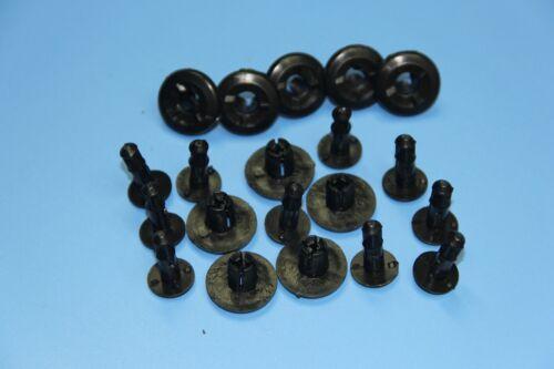 8-9MM HONDA SPLASH BUMPER SIDESKIRT WHEEL ARCH LINING MUDGUARD PANEL TRIM CLIPS