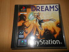 PS1 DREAMS  PAL VERSION  MINT COLLECTORS