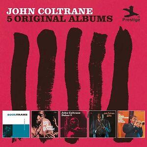 JOHN-COLTRANE-5-ORIGINAL-ALBUMS-5-CD-NEW