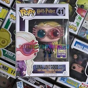 """Funko Pop!Harry Potter Luna Lovegood #41 Exclusive Limited """"MINT"""" With Protector"""
