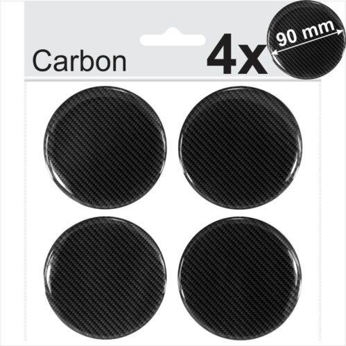 4x 80mm Silver Domed Resin Centre Cap Hub Stickers Wheel trims Caps Badge Emblem