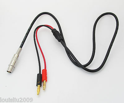 5pcs 4mm 1M//3.3ft BNC Female Jack to Dual Gold Banana Plug Male Test Cable