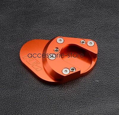 Kickstand Side Stand Extension Plate For KTM RC 125 200 390 690 Duke 950 990 ADV