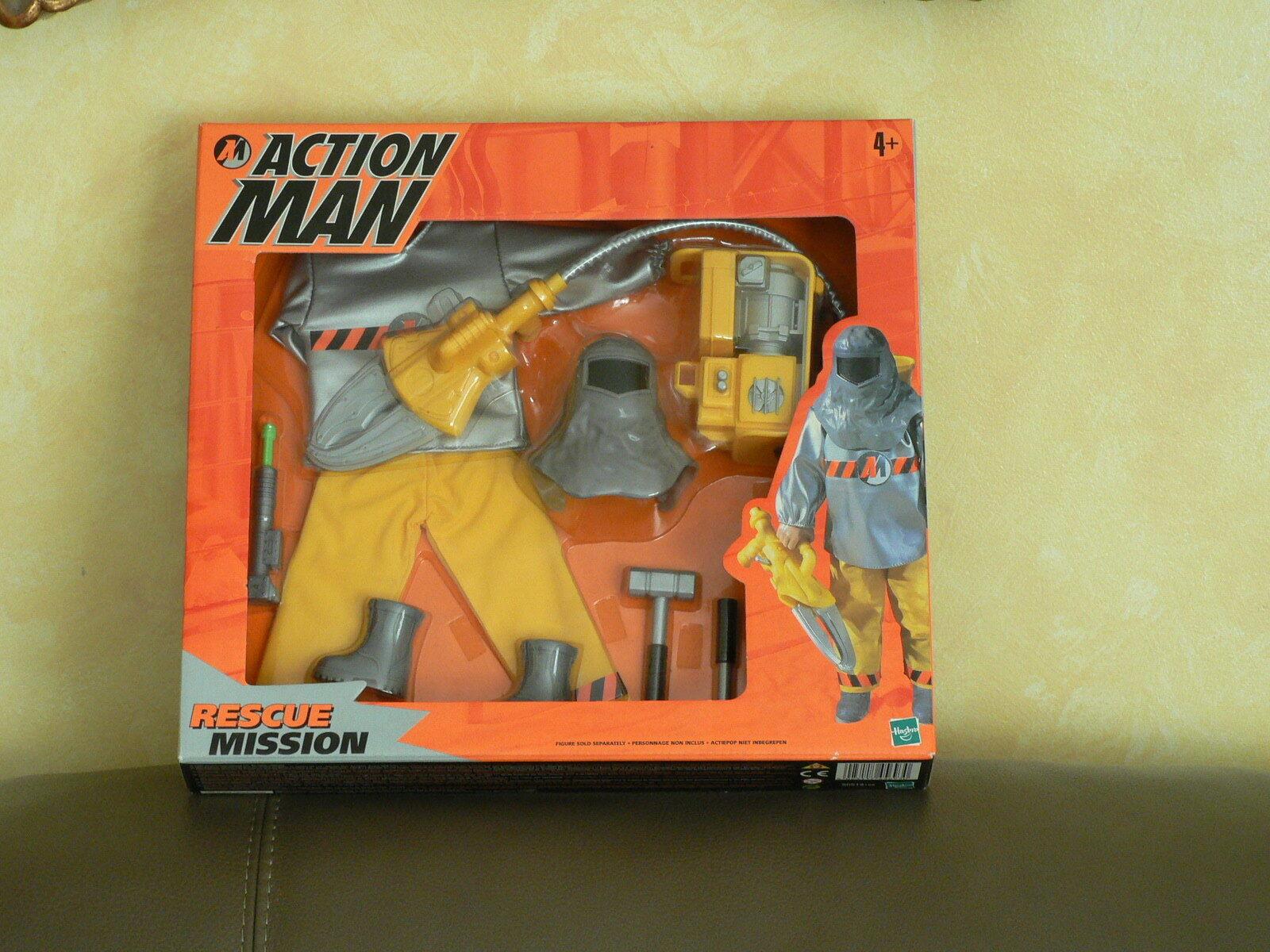 12  Inch  Action Man Rescue Mission  MIB Hasbro