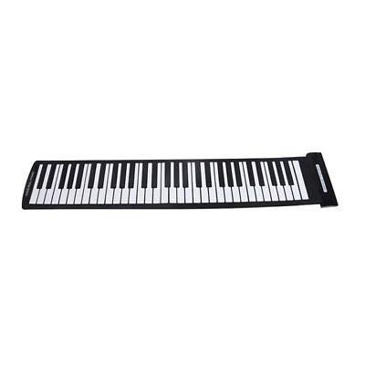 Konix PA61 USB Midi Sensitive 61 standard keys Keyboard//Electric Roll Up Piano