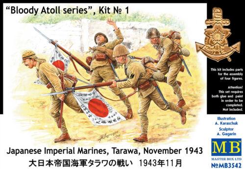 MASTER BOX™ 3542 Japanese Imperial Marines Tarawa November 1943 in 1:35