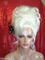 Wigs To Be Wild In For Halloween Vegas Girl Wigs Pick A Color Super Updo Awesome