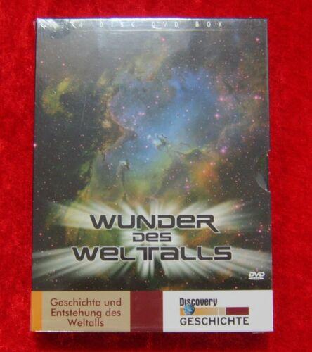 1 von 1 - Wunder des Weltalls Geschichte und Entstehung des Weltalls, DVD Box, Neu