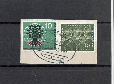 """Briefausschnitt Mit Bahnpoststempel """" Ludwigshafen Bahnpost Briefmarken Karlsruhe """""""