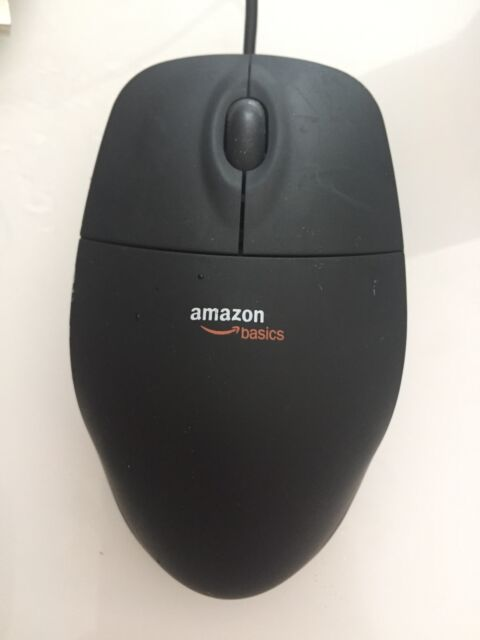 18cddfba332 AmazonBasics 3-button USB Wired Mouse Black for sale online | eBay