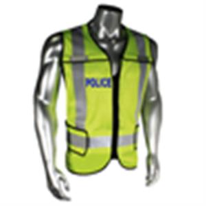 Radians-5-Point-breakaway-Hi-Vis-Safety-Vest-ANSI-ISEA-107-POLICE-LETTERING
