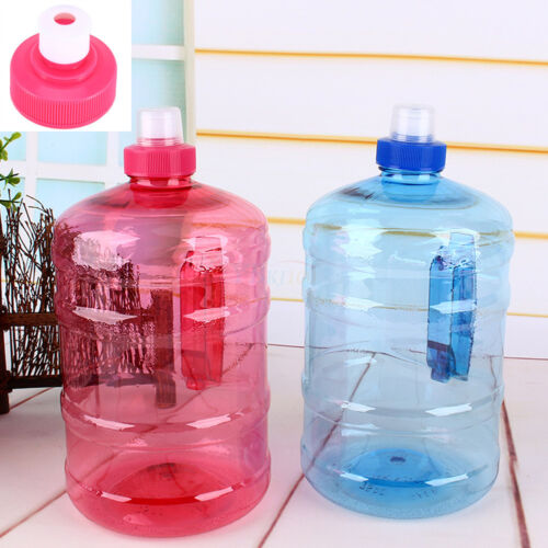 2L Big Large BPA Free Drink Water Bottle Cap Kettle PET Sport Gym Training Party