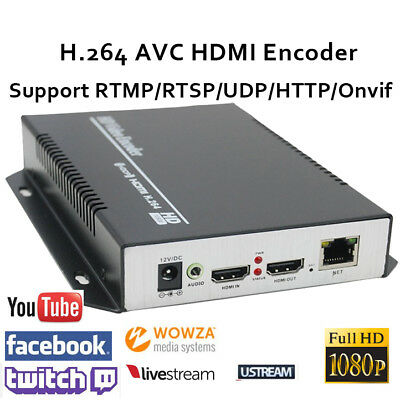 H.264 Portable HDMI Encoder support http rtsp RTMP for Live Stream Broadcast