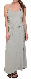 The-North-Face-Womens-Nicolette-Maxi-Dress-Heather-Grey-Sleeveless-Racerback-LG