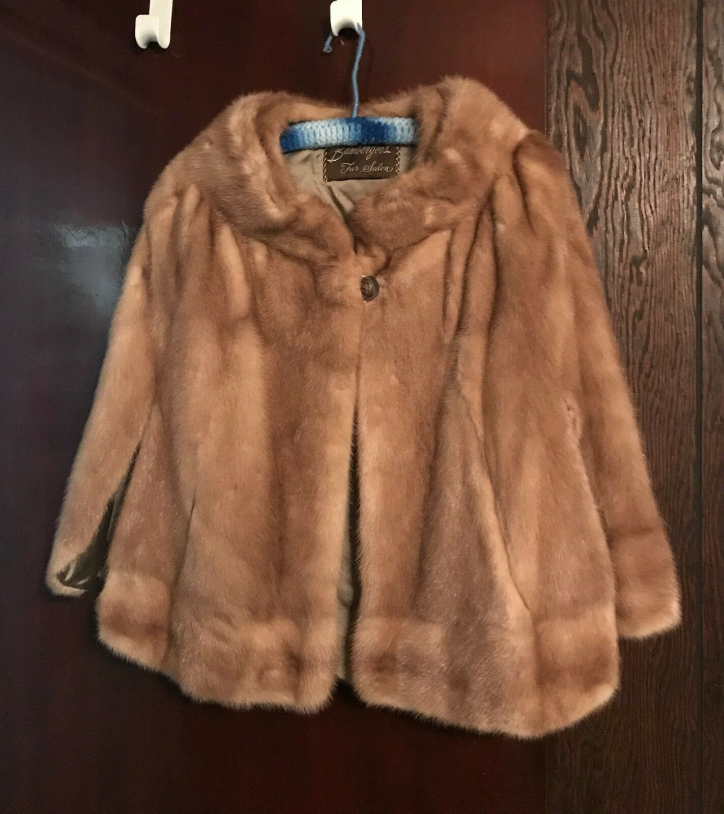 Real mink fur stole from the 60's