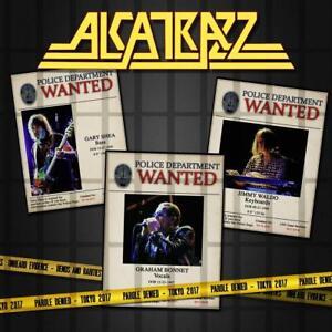 Alcatrazz-parole-Denied-Tokyo-2017-2cd-dvd-DIGIPAK-2-CD-DVD-NUOVO