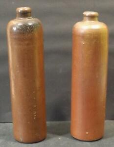 2-Antiguo-Marron-Gres-Botellas-St-A-0-7-sin-Tapon-Cierres