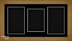 """15/"""" x 9/"""" Shadow Box frame for Baby Casting Keepsakes Black Mount Medals Coins"""