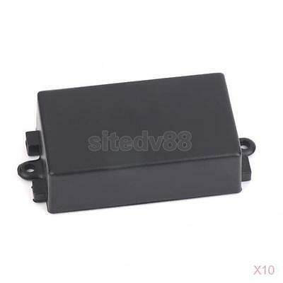 10x Plastic Enclosure Terminal Junction Box for Electronic Circuits 65x38x22mm