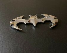 3d Chrome Batman Emblem Batarang Truck Car Suv Automotive Dc Justice League Hero