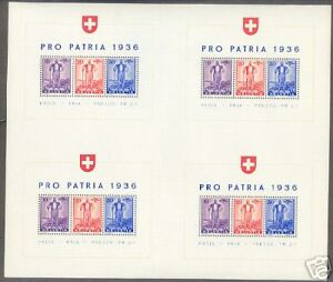 SWITZERLAND-SCOTT-B80-MICHEL-BL-2-S-S-MASTER-SHEET-4