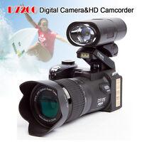 Polo Sharpshots D7200 33m 20x Digital Camera+3 Lens 1080p Built-in Led Spotlight