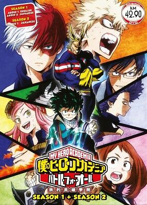 Dvd My Hero Academia Season 12 Complete Episode 1 38 End Anime Boxset English Ebay