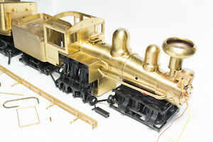 CUSTOM-BUILT-G-1-20-3-SCALE-BRASS-SHAY-PARTS-NOT-COMPLETE-2-3-TRUCK-BACHMANN-F