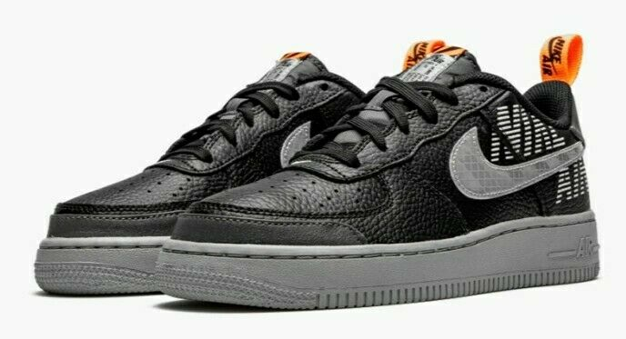 Nike Air Force 1 Lv8 2 Under Construction GS Grade School Size 4y ...