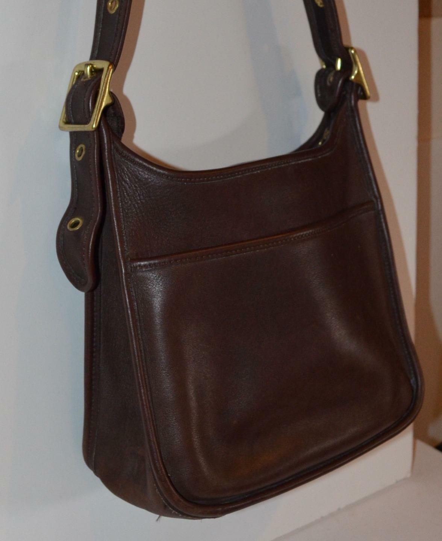 VINTAGE 60s  Bonnie Cashin era Brown Leather Pre … - image 4