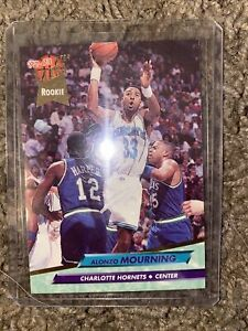 alonzo-mourning-Rookie-Card-Ultra-Fleer-Rookie-92-93-Charlotte-Hornets-234