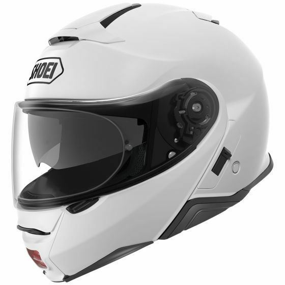 Shoei Solid Neotec 2 Modular Motorcycle Helmet White Large For Sale
