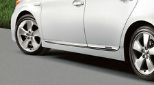 2012-2015 Toyota Prius Lower Chrome Door Moldings OEM PT29A-47120