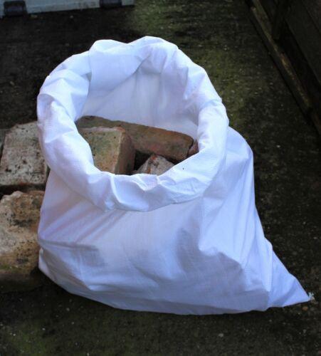 "100 en polypropylène tissé sacs sacs de gravats Builder 22x36 /"""