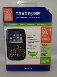 Details about Motorola Tracfone Motogo EX431G Cellphone NIP