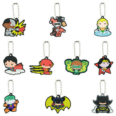 LOT OF 12 DC COMICS RINGS 1 DOZEN BATMAN VS SUPERMAN WONDER WOMAN ROBIN FLASH