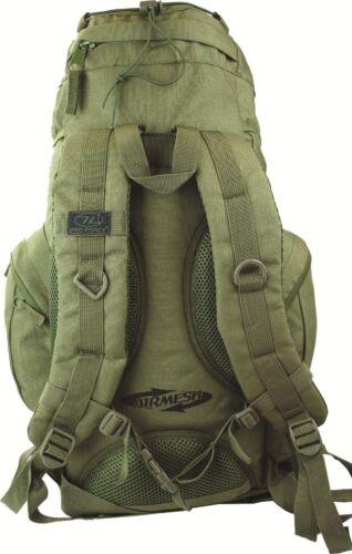 ARMY BACK PACK HIKE HIGHLANDER FORCES TOP QUALITY 33L OG GREEN RUCKSACK//BERGEN