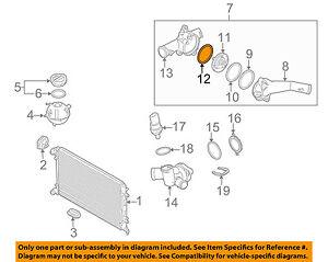volkswagen jetta 2 5 engine diagram vw volkswagen oem 05 14 jetta 2 5l radiator thermostat housing  vw volkswagen oem 05 14 jetta 2 5l