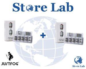 Resistenze-coil-atomizzatore-Justfog-Q16-C14-P16A-1-6-1-2-ohm-x10-Italia-orig