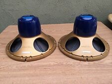 TANNOY ROYAL MONITOR TYPE 12/60 DUAL CONCENTRIC LOUDSPEAKER DRIVERS A PAIR