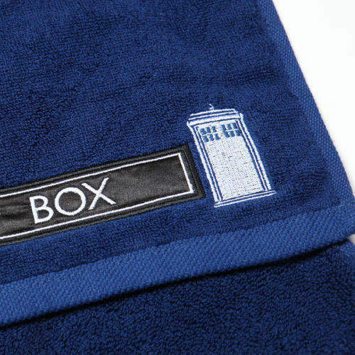 Blue TARDIS 3 Piece Towel Towels Set NEW Dr Doctor Who