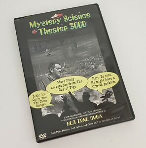Mystery-Science-Theater-3000-Red-Zone-Cuba-DVD-2002-MST3K-Show-619-Awful-Movie