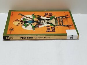Peer Gynt A Dramatic Poem by Henrik Ibsen Paperback 1964 Signet Classic