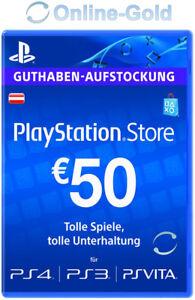 [Nur für Österreich] 50 Euro Playstation Store Card Key 50 € / PS3 PSP PSN [AT]