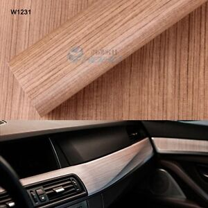 Wood Grain Vinyl Wrap Sticker Decal Film For Car Furniture